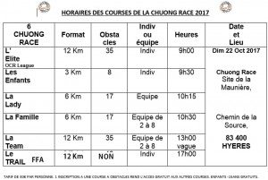 HORAIRES FIN